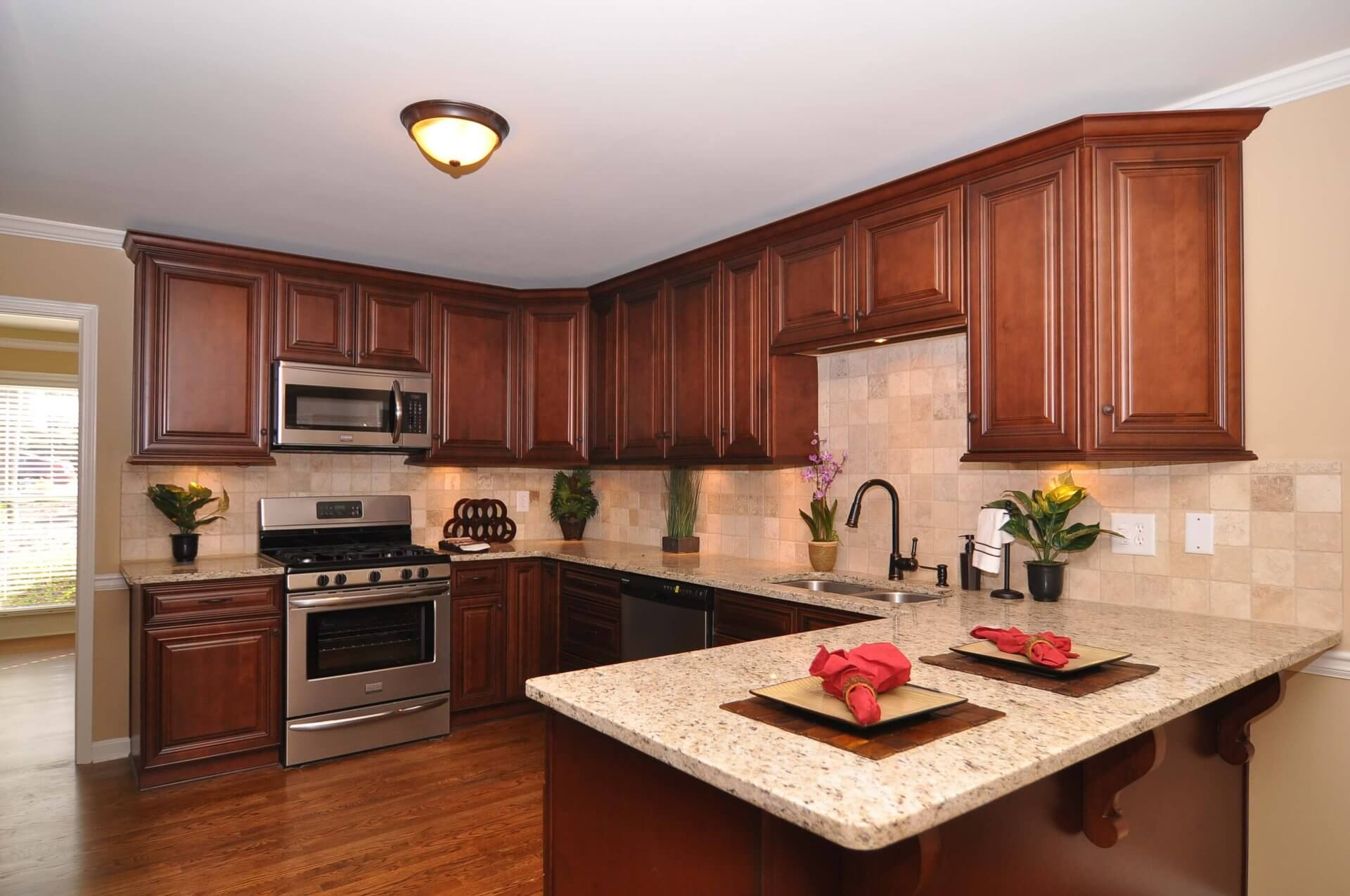 Brown Cocoa Glazed Raised Panel Kitchen Cabinets Cocoa Glazed Raised Panel Rta Cabinets