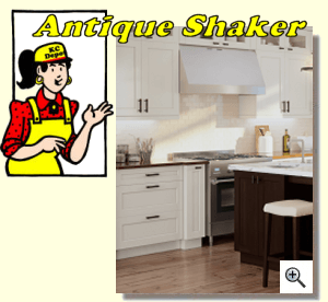 Antique Shaker Kitchen Cabinets