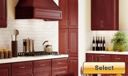 Auburn Glaze Kitchen Cabinets Picture
