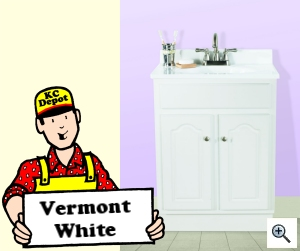 Vermont White Bath Collection