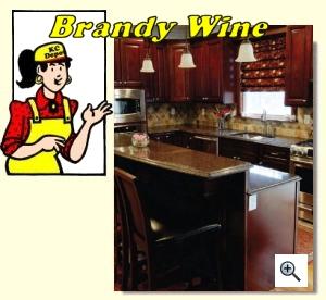 Brandy Wine - Kitchen Cabinet Depot