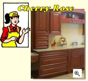 Cherry Rose Cabinets