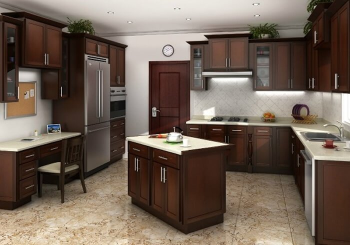 home rta kitchen cabinets sale chestnut shaker