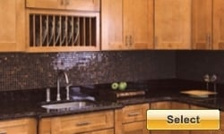 Cinnamon Shaker Kitchen Cabinets Picture