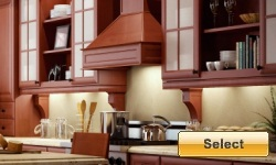 Ginger Glaze discount kitchen cabinets available online