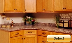 Golden Oak Shaker Style Kitchen Cabinets Available Online