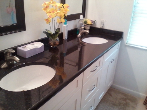 Arctic White RTA Bathroom Vanity