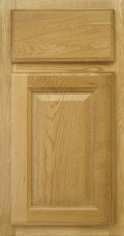 Honey Oak bathroom vanity cabinet style