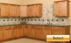 Cherrystone Bronze discount kitchen cabinets available online