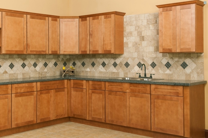 Amazing Spice Shaker Style Kitchen Cabinets Available Online