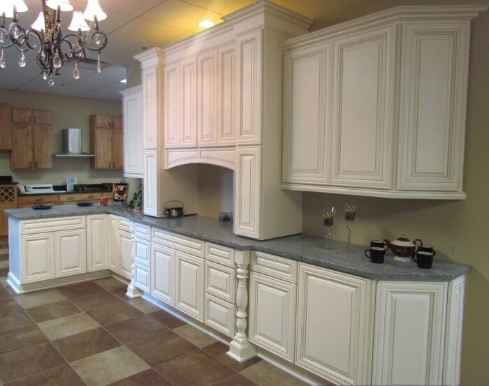 Heirloom White Cabinets