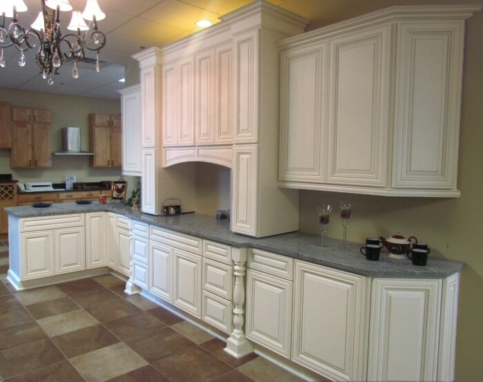 Heirloom White Kitchen Cabinets