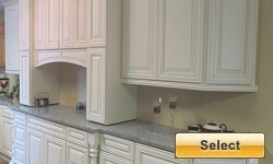 Venetian White Kitchen Cabinets