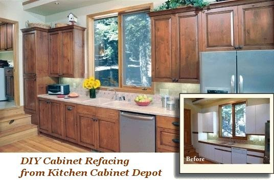If Your Existing Cabinets Are Sturdy And You Are Happy With Your Existing  Layout, DIY Do It Yourself Cabinet Refacing May Be Just What You Need!