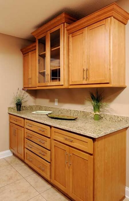 Golden Shaker Kitchen Cabinet Depot