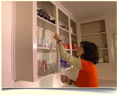 example of measuring for replacement cabinet doors - New Kitchen Cabinet Door