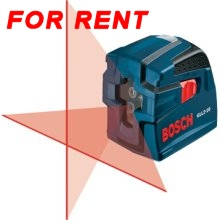 RENT a Bosch Laser Level ($60)
